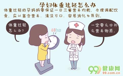 孕妇体重过轻怎么办 孕妇体重过轻的原因 孕妇体重过轻的危害