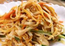 金针菇拌杂蔬的做法,金针菇拌杂蔬,产后减肥食谱