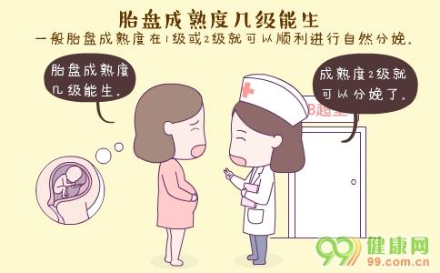 胎盘成熟度几级能生 什么是胎盘成熟度 胎盘成熟度1级