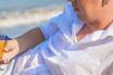 肥胖男士穿衣搭配:拒绝印花窗帘布