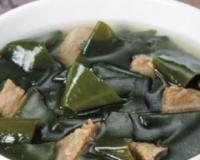 孕妇补蛋白质食谱 鲜味海带汤的做法 鲜味海带汤