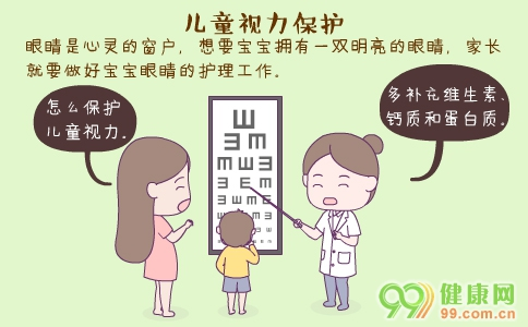 儿童视力保护 儿童近视 儿童视力保护的方法
