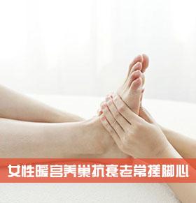 女性常搓脚心 暖宫养巢抗衰老