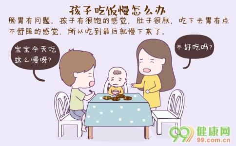 孩子吃饭慢怎么办 孩子吃饭慢的原因 孩子的正常用餐时间