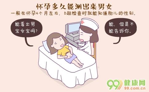 怀孕多久能测出来性别 怀孕几天能测出来 早孕测试最佳时间