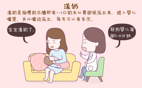 婴儿漾奶 婴儿漾奶是怎么回事 如何预防婴儿漾奶
