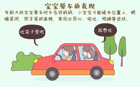 宝宝晕车的表现 宝宝晕车怎么办 如何防止宝宝晕车