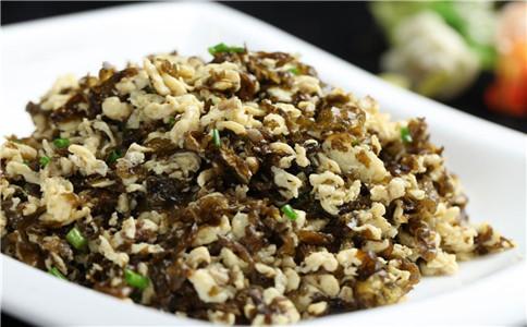 地皮菜的做法 地皮菜炒鸡蛋 地皮菜的功效