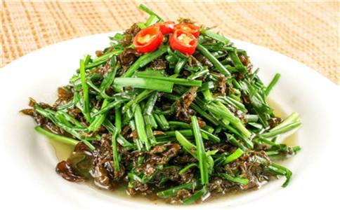 地皮菜有哪些营养价值 地皮菜怎么做 地皮菜食用禁忌