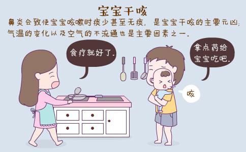 宝宝干咳怎么办 宝宝干咳的原因 宝宝干咳的食疗方法