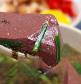 猪血的好处 猪红有什么功效 猪血的做法