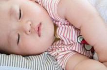 宝宝睡不好原因多 家长别盲目补钙