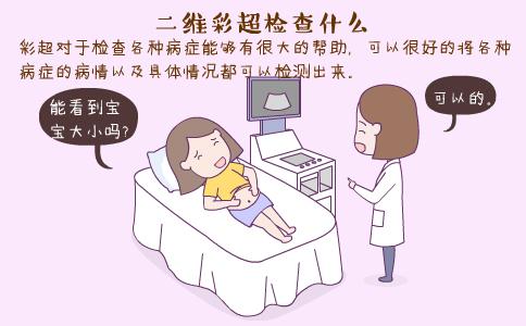 二维彩超检查什么 二维彩超什么时候做 二维彩超能查出胎儿畸形吗