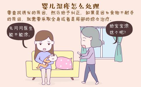 婴儿湿疹怎么护理 婴儿湿疹的原因 婴儿湿疹的预防方法