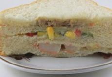 孕期营养食谱 牛油果三明治的做法
