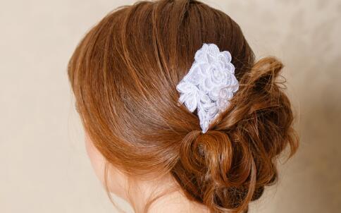 发型DIY 花苞头发型 发型步骤