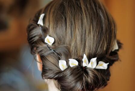 新娘發型 新娘發型圖片 經典新娘發型