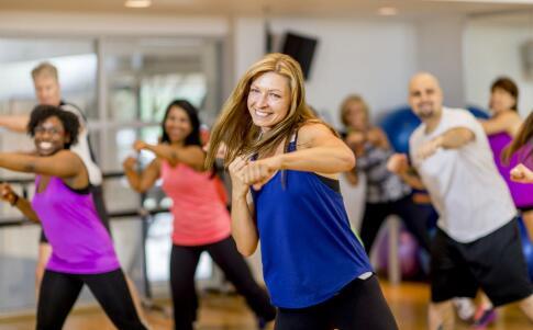 杠铃操 迅速塑身 瘦身 健康