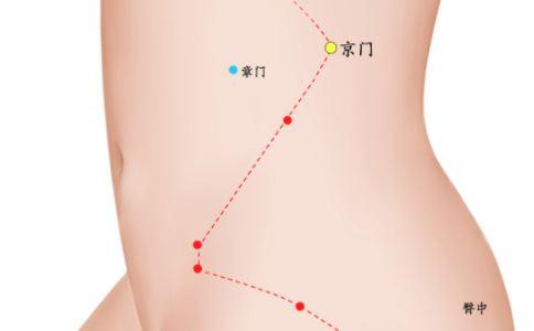 京门穴穴位的准确位置图 京门穴在哪里 京门穴的具体位置