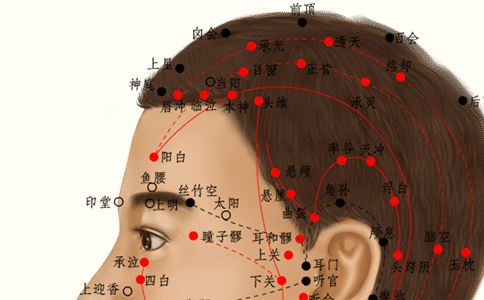 百会穴位的准确位置图 百会穴位的位置图 百会穴准确位置图