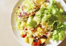 营养食谱 南瓜玉米沙拉的做法