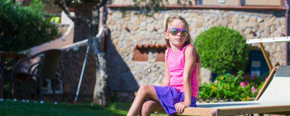 儿童多大能戴太阳镜 儿童戴太阳镜好吗 儿童太阳镜什么样的好