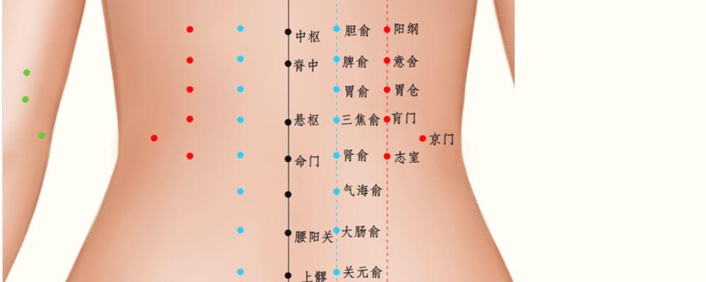 肾俞穴的准确位置图 肾俞穴位图 肾俞穴