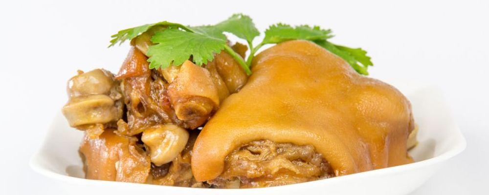 猪蹄可以减肥吗 猪蹄的热量高吗 猪蹄的营养价值