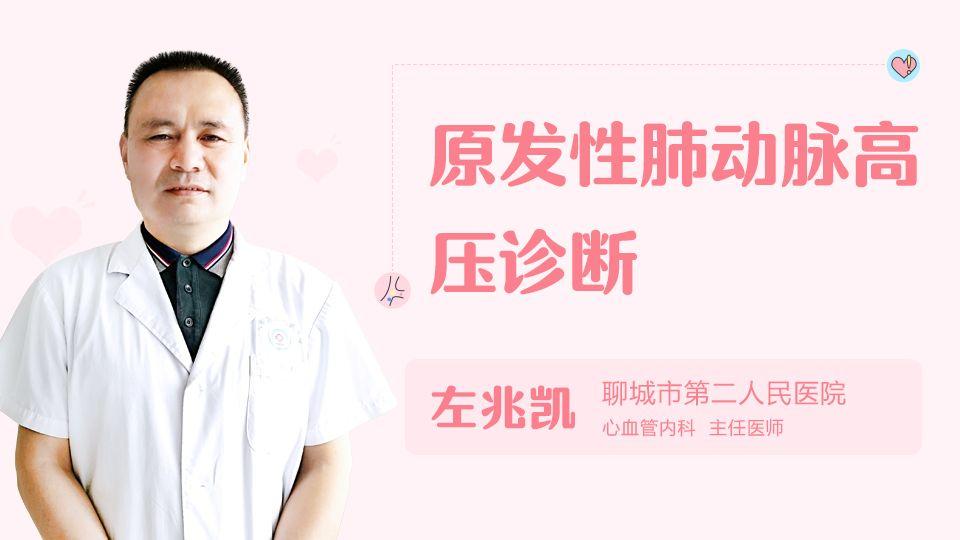 原发性肺动脉高压诊断