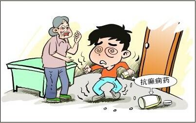 腹痛癫痫的症状