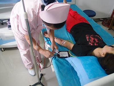 蓝氧净血免疫疗法 血液微循环 白癜风