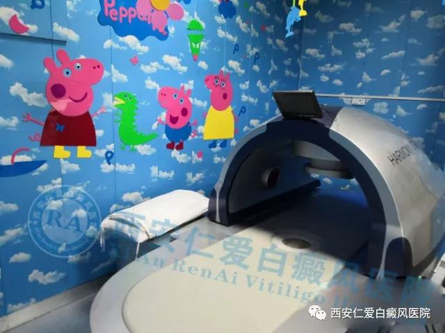 """网红小猪佩琪""""入住""""西安仁爱白癜风医院"""