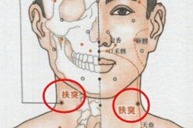 扶突穴的功效与作用,扶突穴穴位配伍,按摩扶突穴位的作用