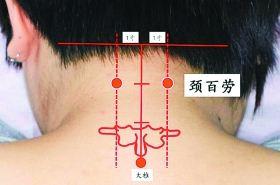 按摩颈百劳穴位的作用,颈百劳穴的功效与作用,颈百劳穴的功效