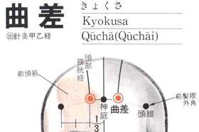 曲差穴的功效与作用,按摩曲差穴的作用,曲差穴的准确位置图