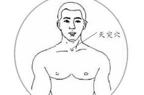 天突穴的功效与作用,按摩天突穴的作用,天突穴的准确位置图