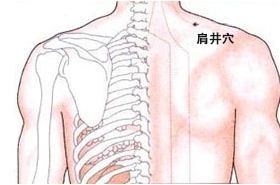肩井穴的功效与作用,肩井穴的准确位置图,肩井穴的功效