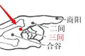 三间穴的功效与作用,按摩三间穴的作用,三间穴的准确位置图