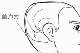 脑户穴的功效与作用,脑户穴的准确位置图,按摩脑户穴的作用