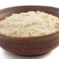 孕期高血压食谱 蘑菇菜丝燕麦粥的做法