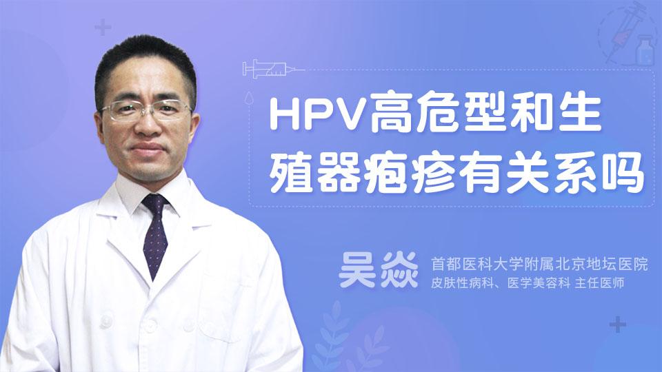 HPV高危型和生殖器疱疹有关系吗